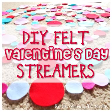 Felt Streamers